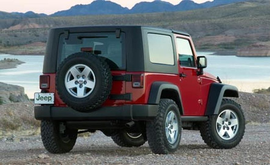 2007 Jeep Wrangler Unlimited 4-Door - Slide 19