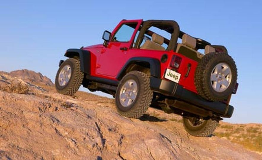 2007 Jeep Wrangler Unlimited 4-Door - Slide 20