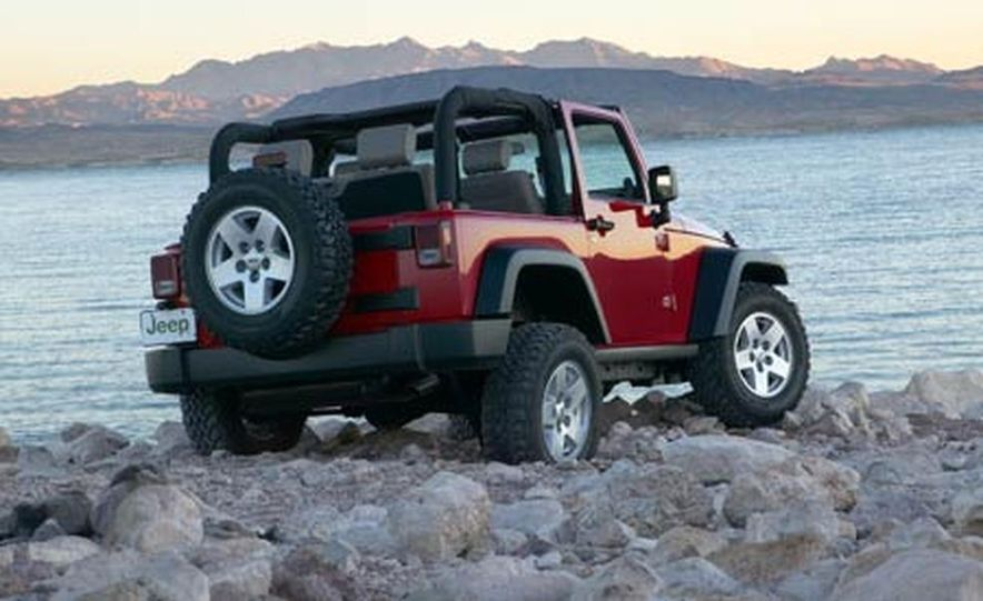 2007 Jeep Wrangler Unlimited 4-Door - Slide 21