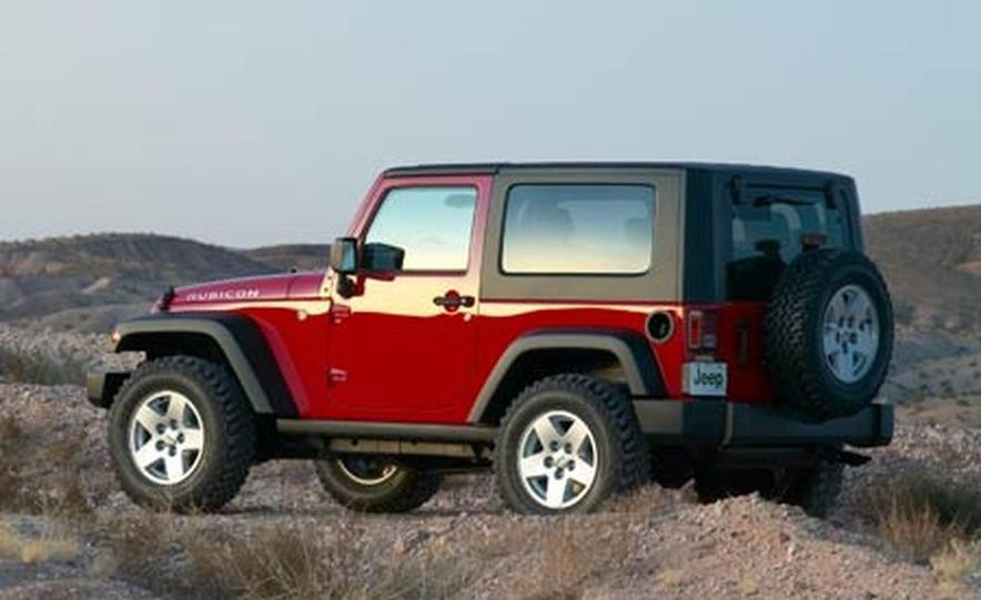 2007 Jeep Wrangler Unlimited 4-Door - Slide 22