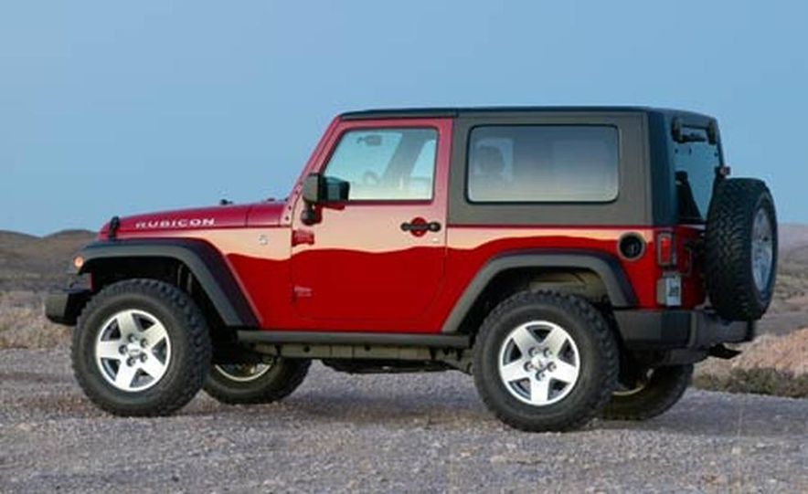 2007 Jeep Wrangler Unlimited 4-Door - Slide 23