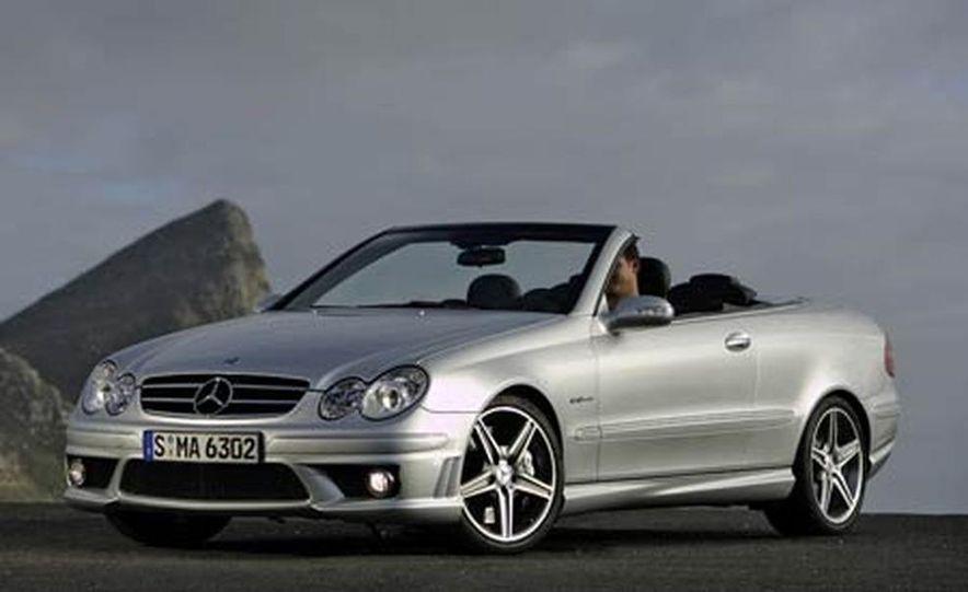 2006 Mercedes-Benz CLK63 AMG cabriolet - Slide 1