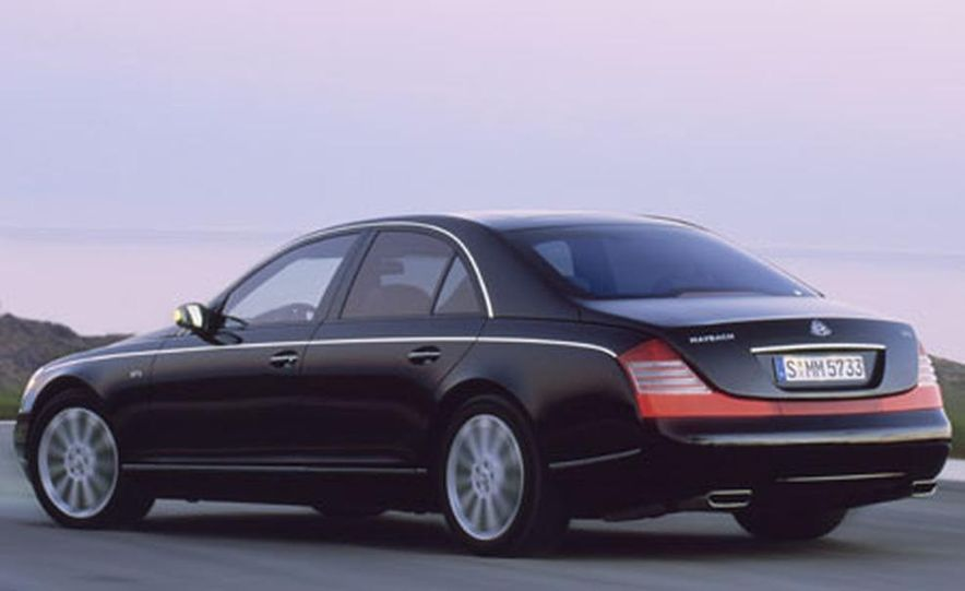 2007 Maybach 57S - Slide 9
