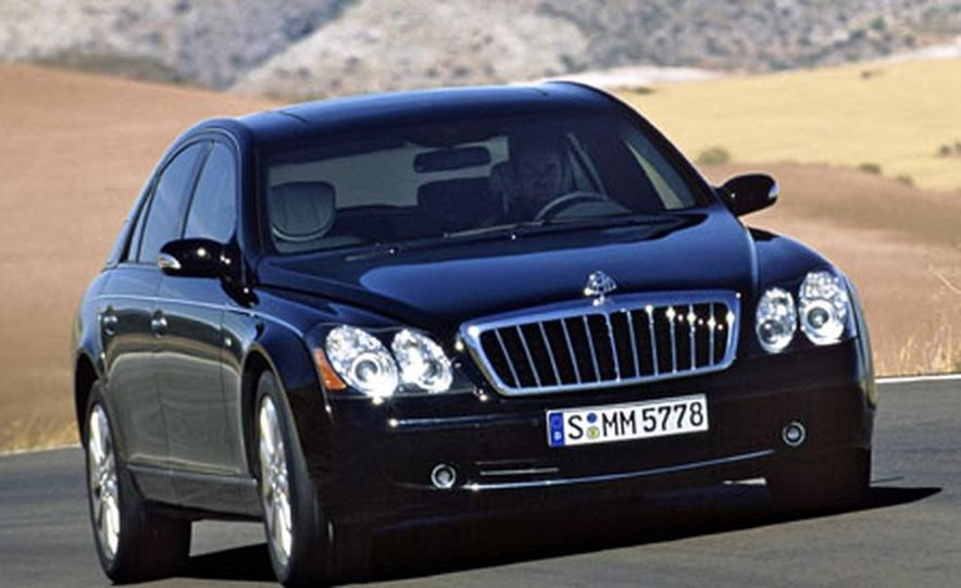 2007 Maybach 57S - Slide 10