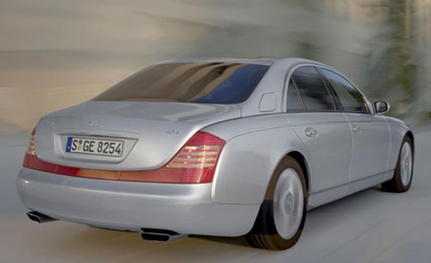 2007 Maybach 57S - Slide 11