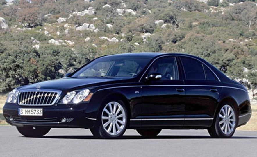 2007 Maybach 57S - Slide 12