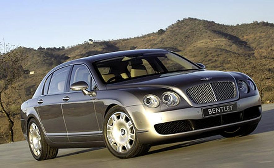 Bentley Continental Flying Spur - Slide 1