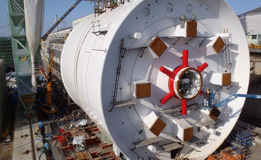 Last day above ground for Bertha's cutterhead - Slide 11