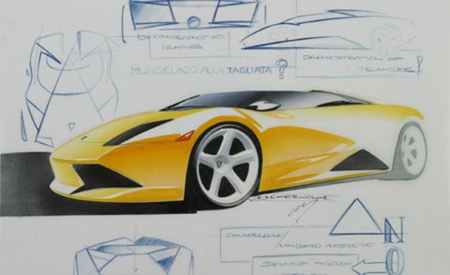 Lamborghini Murciélago Roadster - Slide 2