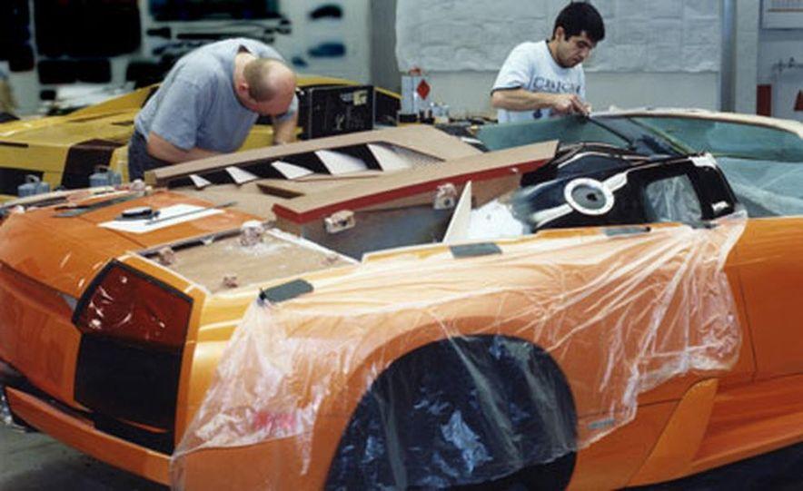 Lamborghini Murciélago Roadster - Slide 13