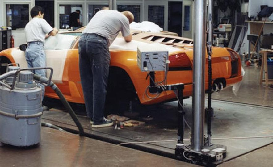 Lamborghini Murciélago Roadster - Slide 15
