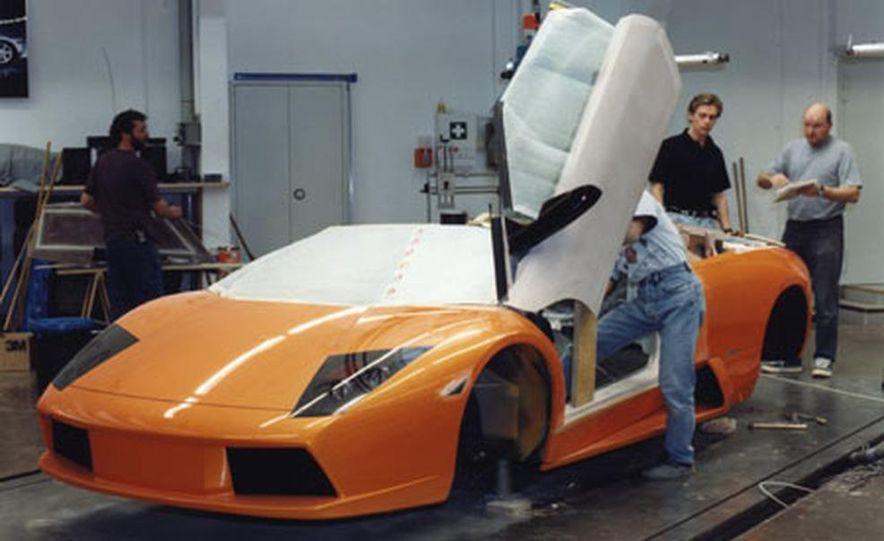 Lamborghini Murciélago Roadster - Slide 16