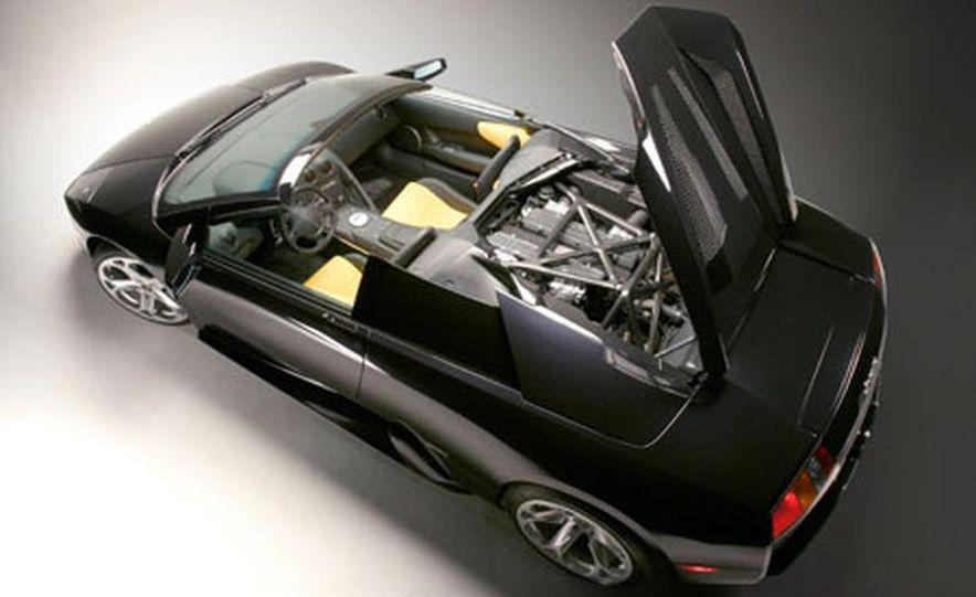 Lamborghini Murciélago Roadster - Slide 19