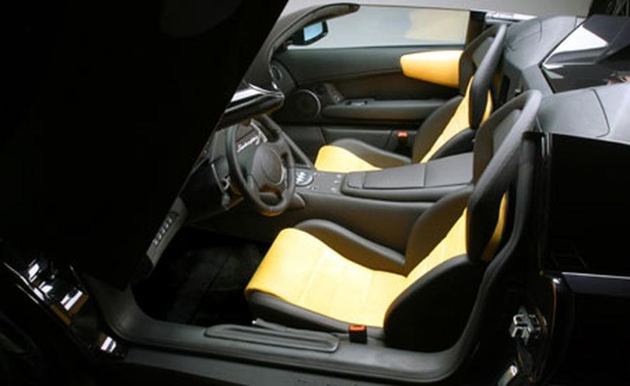 Lamborghini Murciélago Roadster - Slide 20