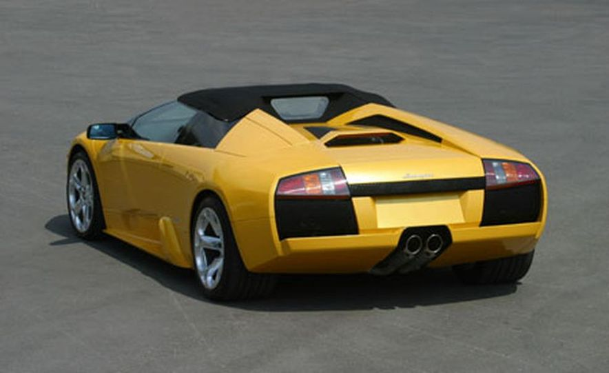 Lamborghini Murciélago Roadster - Slide 22