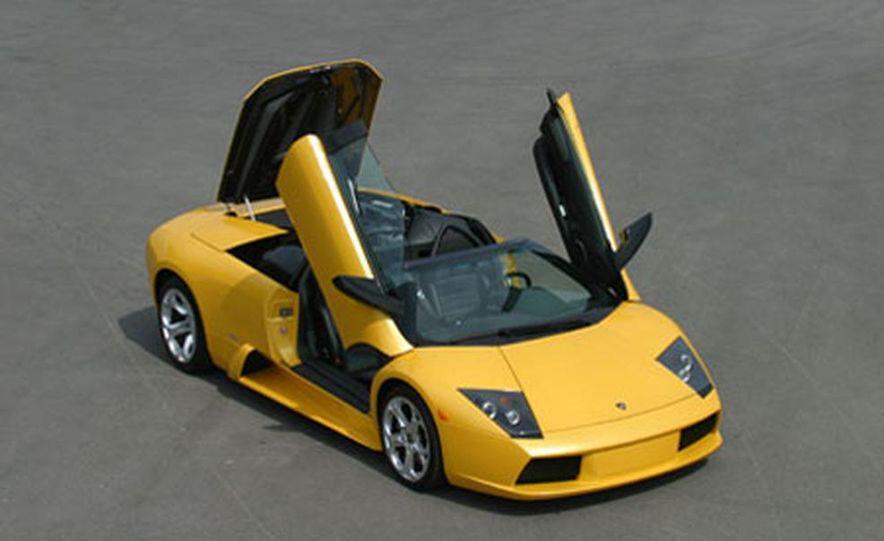 Lamborghini Murciélago Roadster - Slide 24