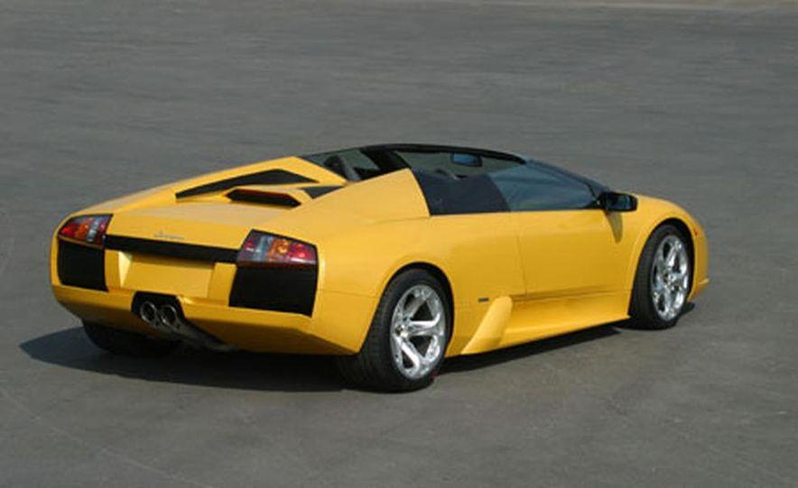 Lamborghini Murciélago Roadster - Slide 27