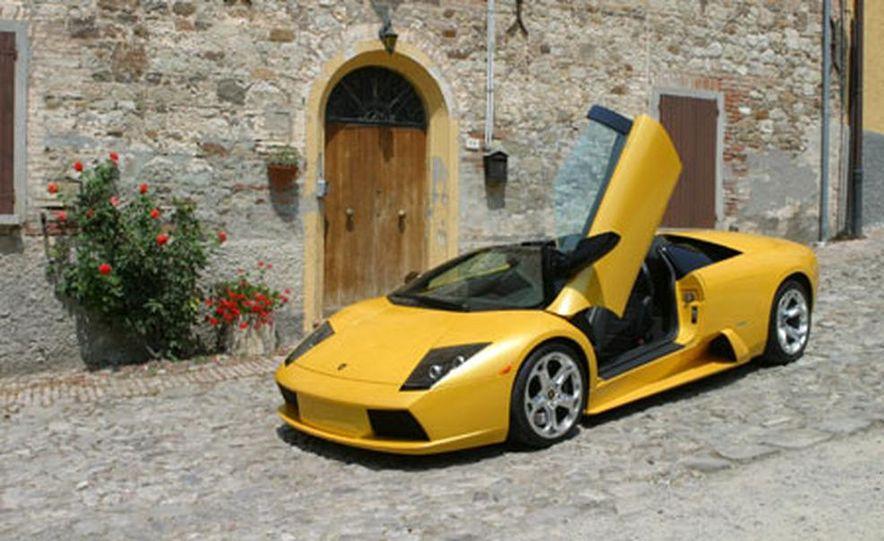 Lamborghini Murciélago Roadster - Slide 30
