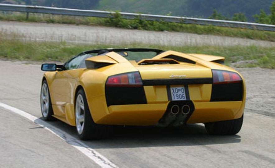 Lamborghini Murciélago Roadster - Slide 32