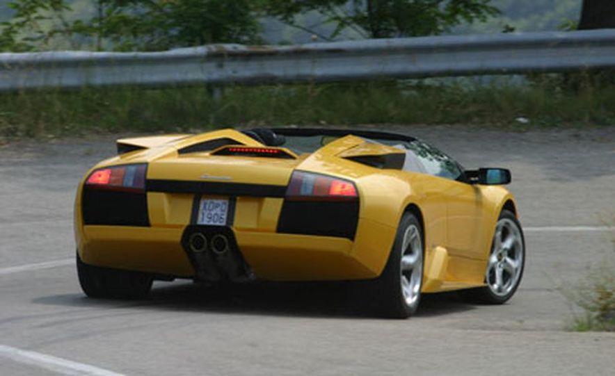 Lamborghini Murciélago Roadster - Slide 34