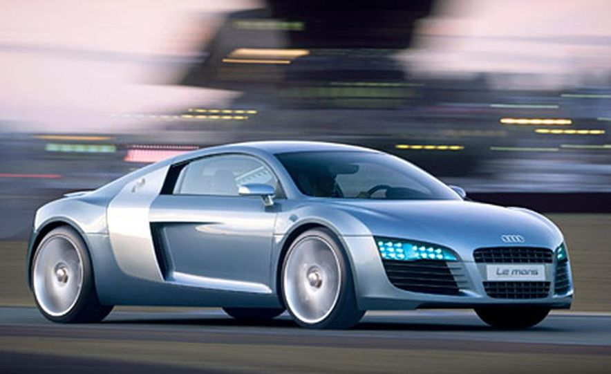 Audi Le Mans Quattro Concept - Slide 1