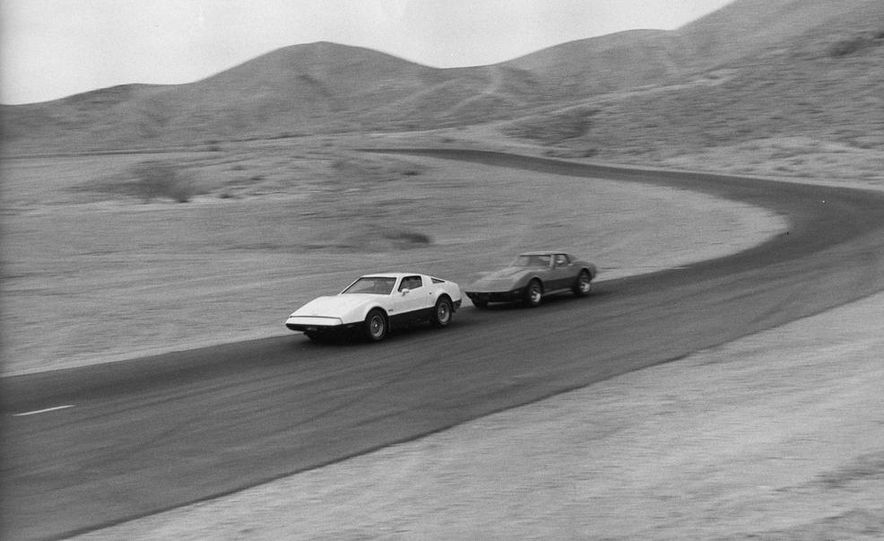 Bricklin SV-1 and Chevrolet Corvette Stingray - Slide 1