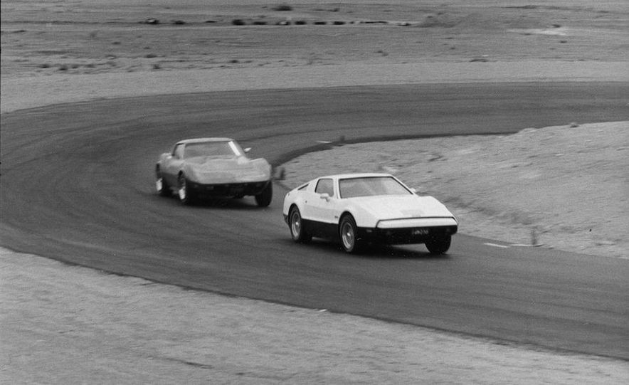 Bricklin SV-1 and Chevrolet Corvette Stingray - Slide 2