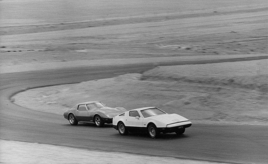 Bricklin SV-1 and Chevrolet Corvette Stingray - Slide 3