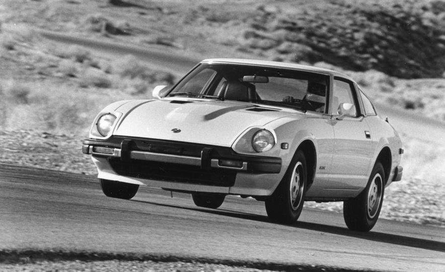 Mazda RX-7, Porsche 924, Chevy Corvette, Fiat Spider 2000, Datsun 280-ZX,  and Alfa Romeo Spider - Slide 5