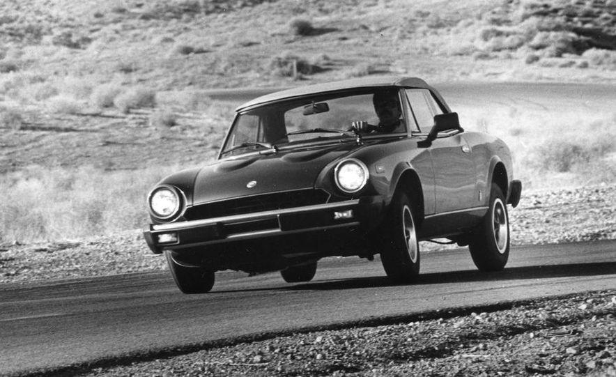 Mazda RX-7, Porsche 924, Chevy Corvette, Fiat Spider 2000, Datsun 280-ZX,  and Alfa Romeo Spider - Slide 2
