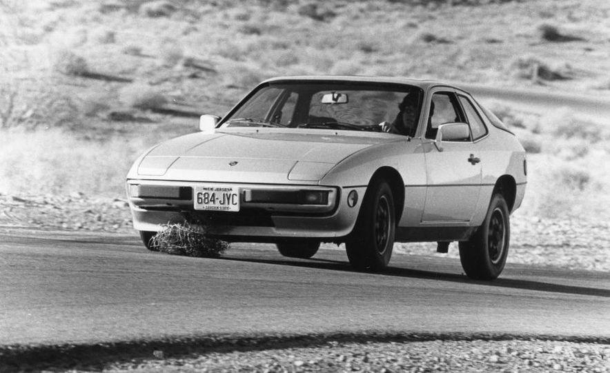 Mazda RX-7, Porsche 924, Chevy Corvette, Fiat Spider 2000, Datsun 280-ZX,  and Alfa Romeo Spider - Slide 17