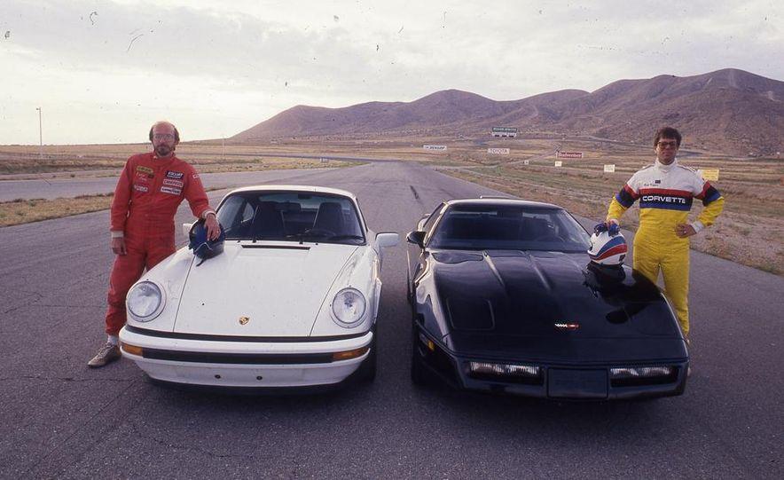 1988 Porsche 911 Club Sport and Chevrolet Corvette Z51 - Slide 1