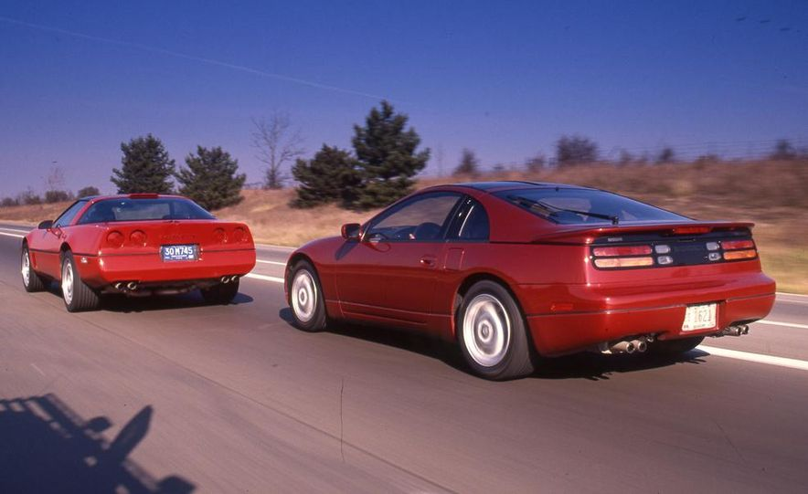 1990 Nissan 300ZX Turbo and Chevrolet Corvette Z51 FX3 - Slide 2
