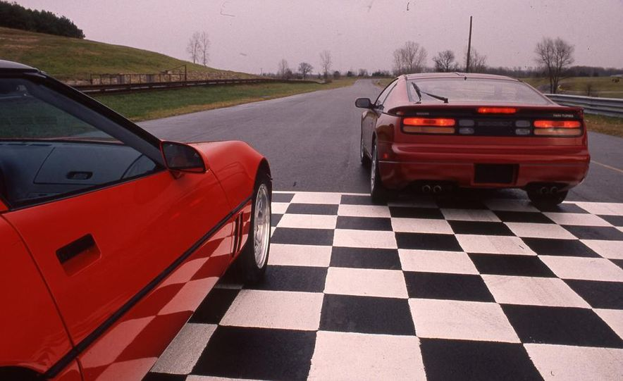 1990 Nissan 300ZX Turbo and Chevrolet Corvette Z51 FX3 - Slide 3