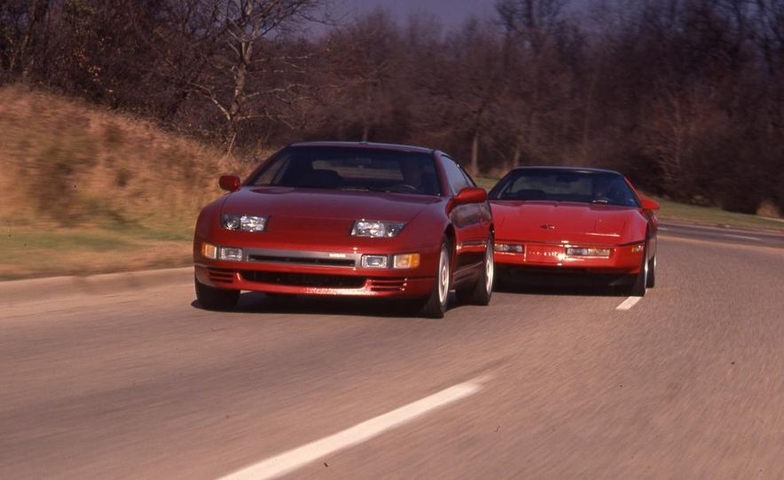 1990 Nissan 300ZX Turbo and Chevrolet Corvette Z51 FX3 - Slide 1