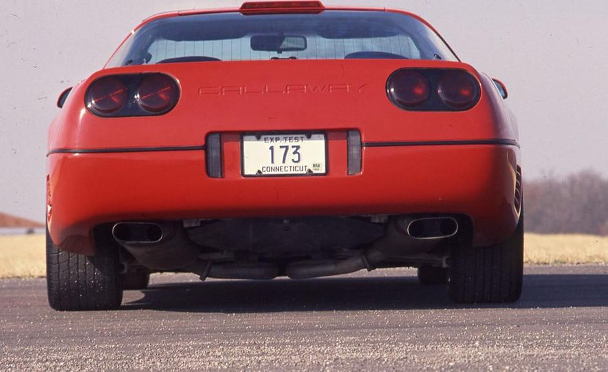 Callaway Twin-Turbo Chevrolet Corvette - Slide 4