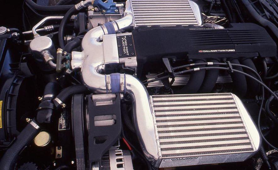 Callaway Twin-Turbo Chevrolet Corvette - Slide 7
