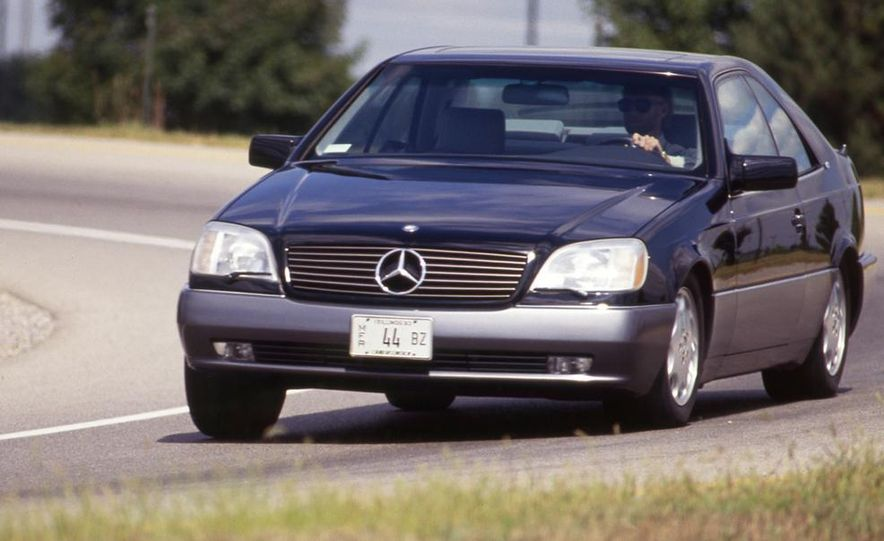Mercedes-Benz 600SEC - Slide 1