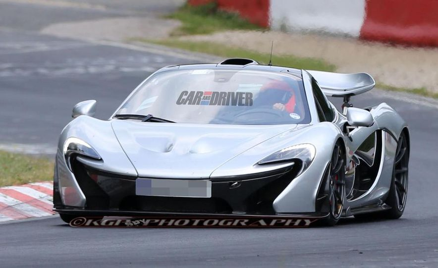 McLaren P1 XP2R (spy photo) - Slide 1