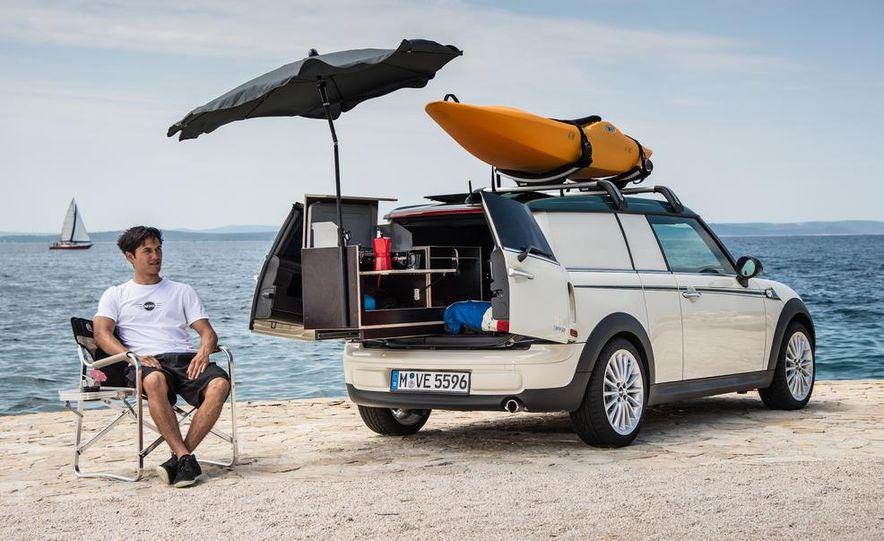 MINI Countryman ALL4 Camp concept, MINI Cowley concept trailer, MINI Clubvan Camper concepts - Slide 42