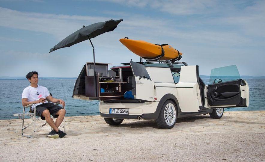 MINI Countryman ALL4 Camp concept, MINI Cowley concept trailer, MINI Clubvan Camper concepts - Slide 43