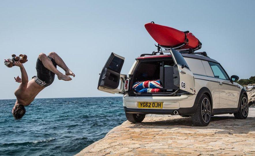 MINI Countryman ALL4 Camp concept, MINI Cowley concept trailer, MINI Clubvan Camper concepts - Slide 48