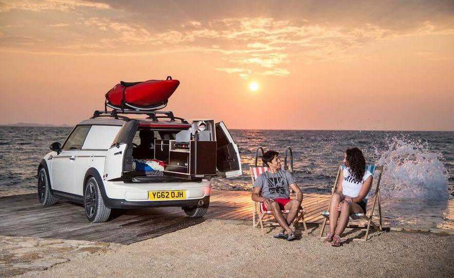 MINI Countryman ALL4 Camp concept, MINI Cowley concept trailer, MINI Clubvan Camper concepts - Slide 54