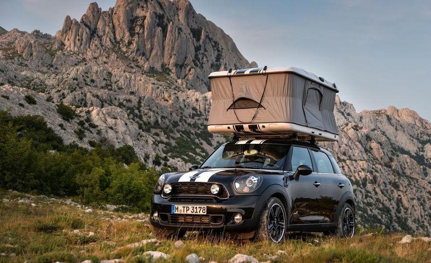 MINI Countryman ALL4 Camp concept, MINI Cowley concept trailer, MINI Clubvan Camper concepts - Slide 10