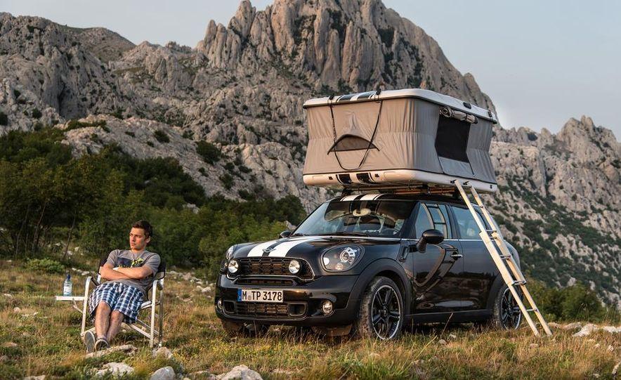 MINI Countryman ALL4 Camp concept, MINI Cowley concept trailer, MINI Clubvan Camper concepts - Slide 12