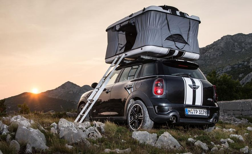 MINI Countryman ALL4 Camp concept, MINI Cowley concept trailer, MINI Clubvan Camper concepts - Slide 13