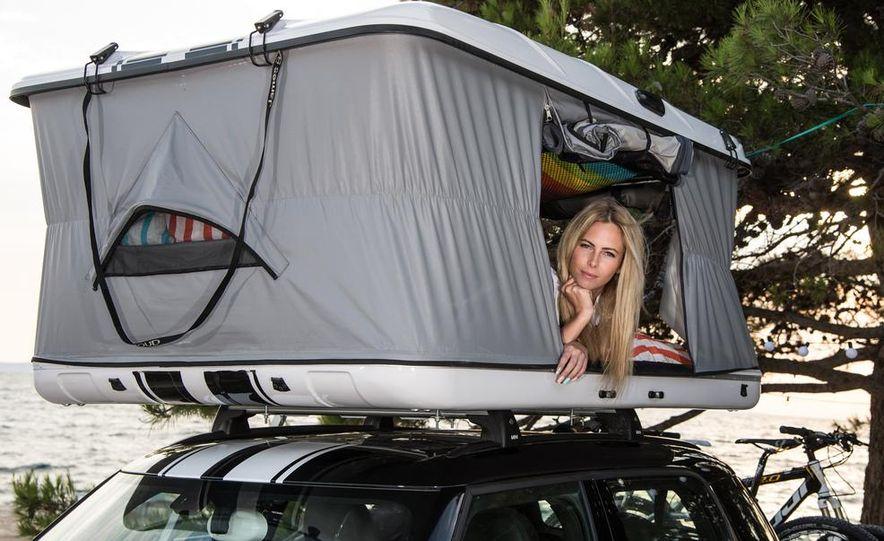 MINI Countryman ALL4 Camp concept, MINI Cowley concept trailer, MINI Clubvan Camper concepts - Slide 26