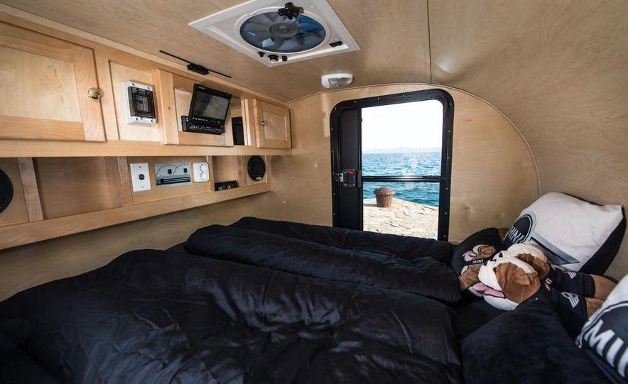 MINI Countryman ALL4 Camp concept, MINI Cowley concept trailer, MINI Clubvan Camper concepts - Slide 69