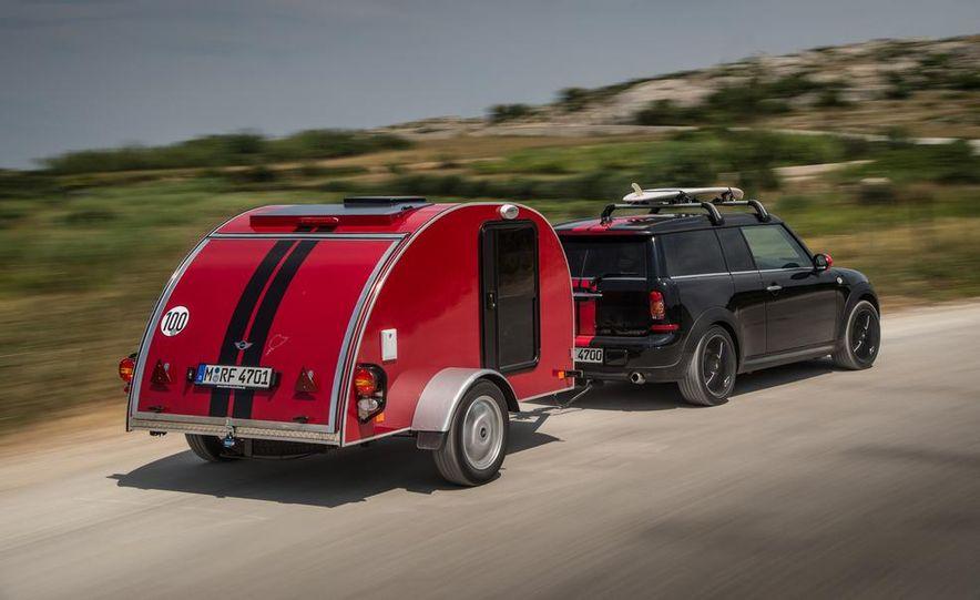 MINI Countryman ALL4 Camp concept, MINI Cowley concept trailer, MINI Clubvan Camper concepts - Slide 65