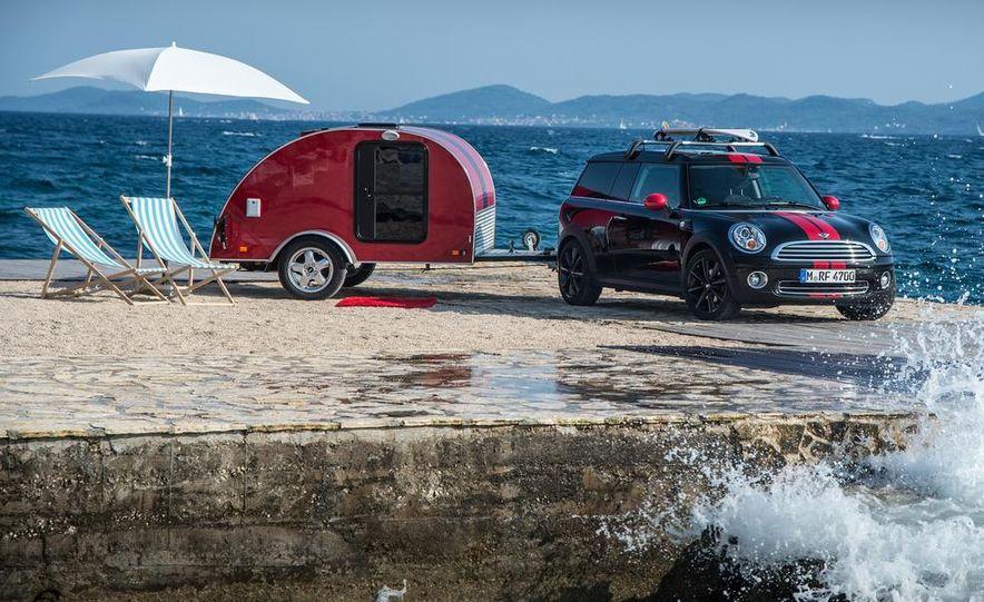 MINI Countryman ALL4 Camp concept, MINI Cowley concept trailer, MINI Clubvan Camper concepts - Slide 66